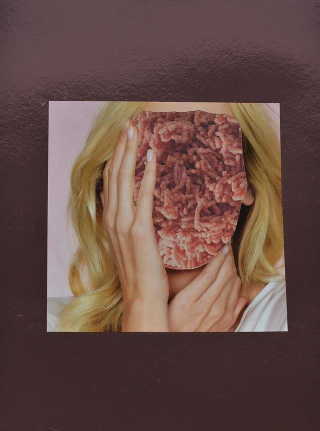 hoofdpijn, gehakt, vrouw